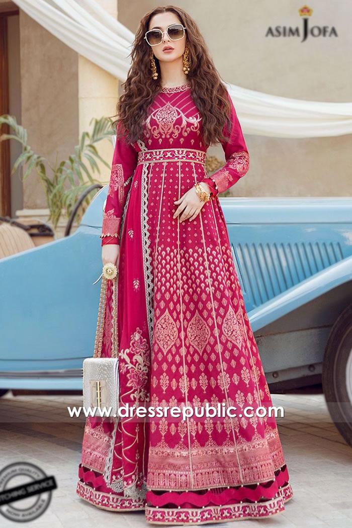 DRP2189 Asim Jofa Luxury Lawn 2021 Karachi, Lahore, Islamabad, Pakistan