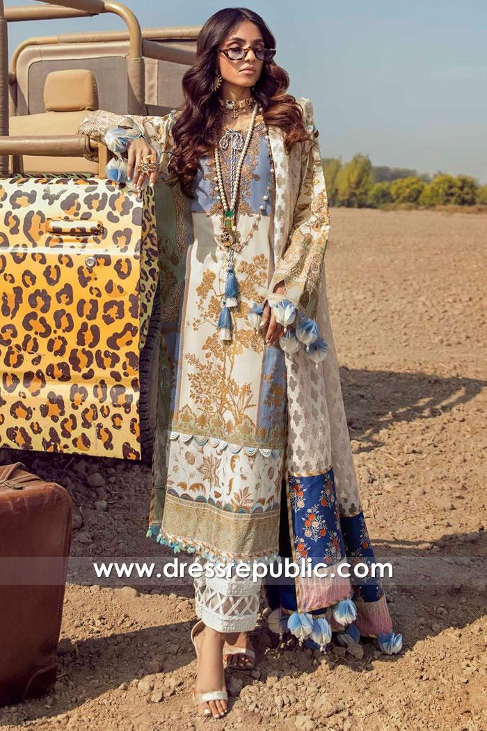 DRP2204 Sana Safinaz Muzlin 21 Chicago, Detroit, Columbus, Phoenix, Denver
