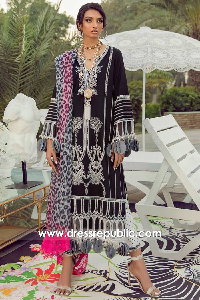 DRP2235 Sana Safinaz New Collection 2021 | Stitched Lawn Suits UK