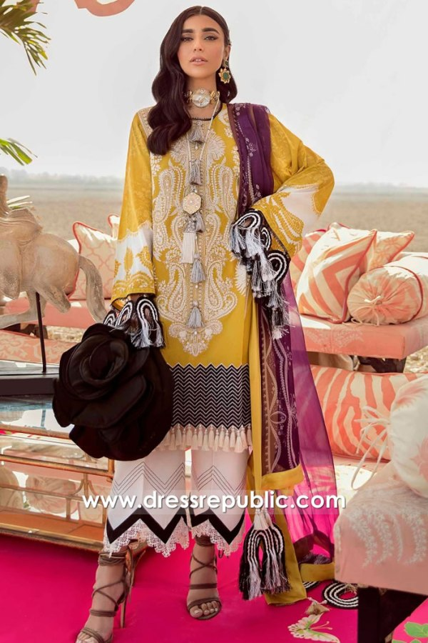 DRP2237 Sana Safinaz Stitched Dresses New York | Pakistani Lawn Suits New York