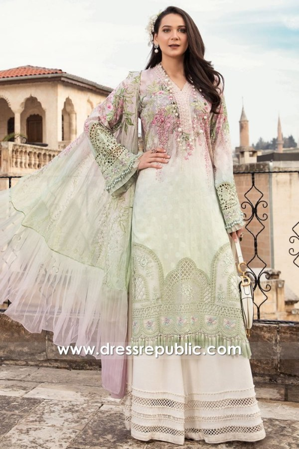 DRP2307 Maria B Lawn 2021 Online Buy in England, Scotland, Ireland, Wales, UK