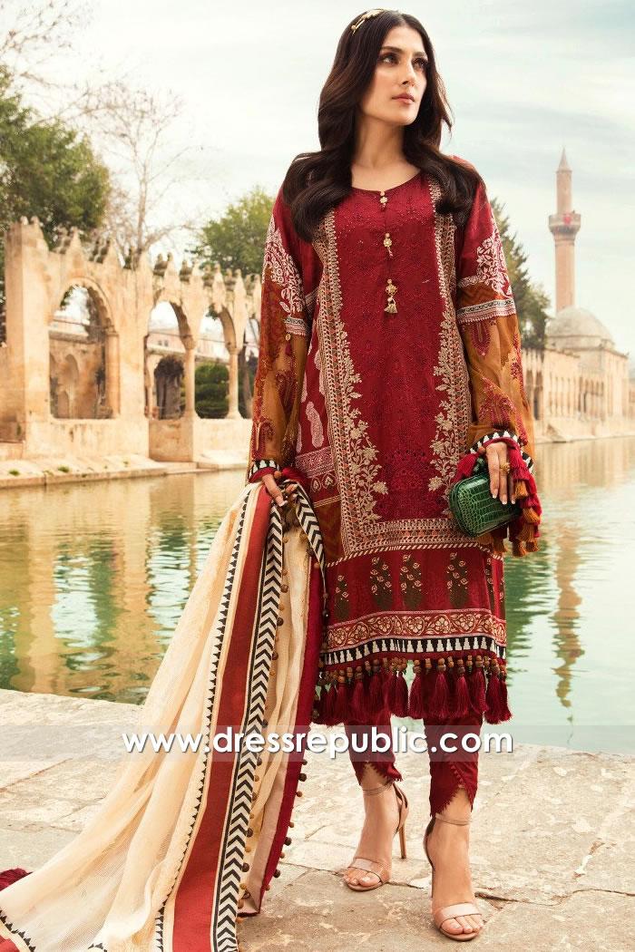 DRP2327 Maria B Lawn 2021 Dubai, Abu Dhabi, Ajman, Fujairah, Al-Ain, UAE