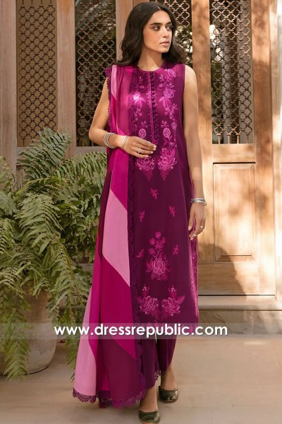 DRP2343 Pakistani Lawn Shops in California, New York, New Jersey, Texas, USA