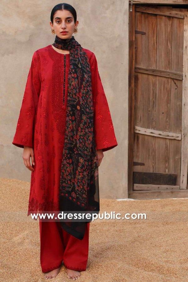 DRP2441 Zara Shahjahan Lawn 21 USA Online New York, New Jersey, Texas, Ohio