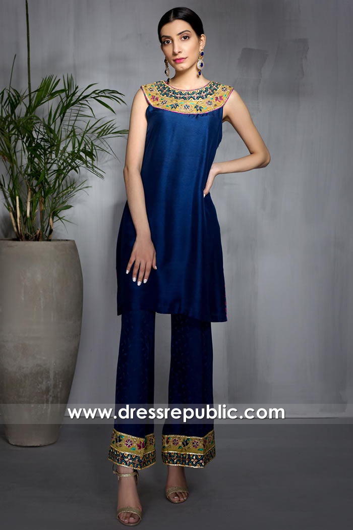 DR16016 Designer Shalwar Kameez Eid 2021 Collection Online Shop USA
