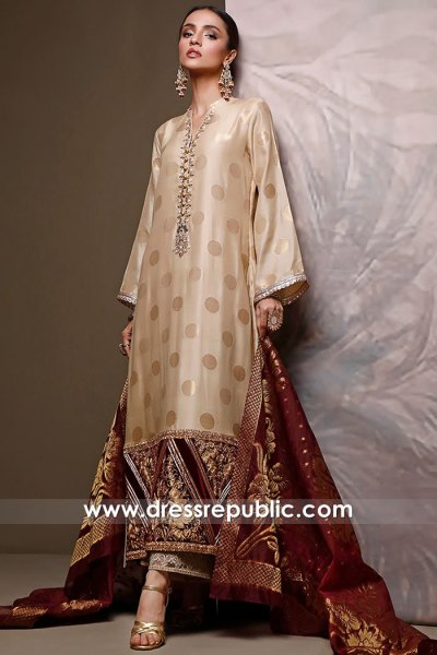 DR16054 Wedding Guest Pakistani Dress 2021 Collection Buy in California, USA