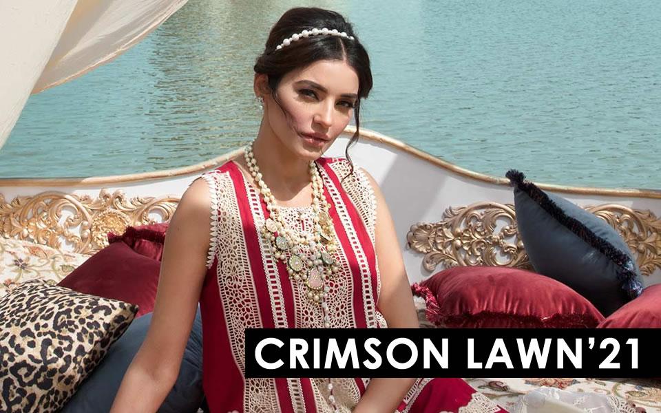 Crimson Lawn 21 Now Available