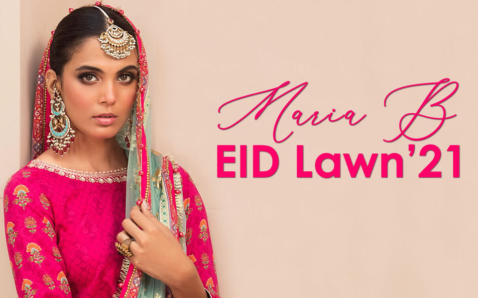 Maria B Eid Lawn 2021 Now in Store