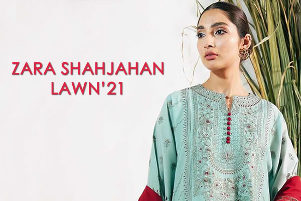 Zara Shahjahan Lawn 21 With Stitching Price