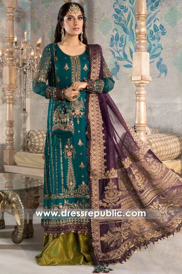 DRP2610 Maria B Mbroidered Heritage Edition 2021 Buy Online USA, Canada, UK