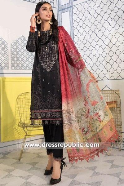 DRP2684 Maria B Mprints 2021 Eid Online Qatar, Kuwait, Bahrain, Oman, Jordan
