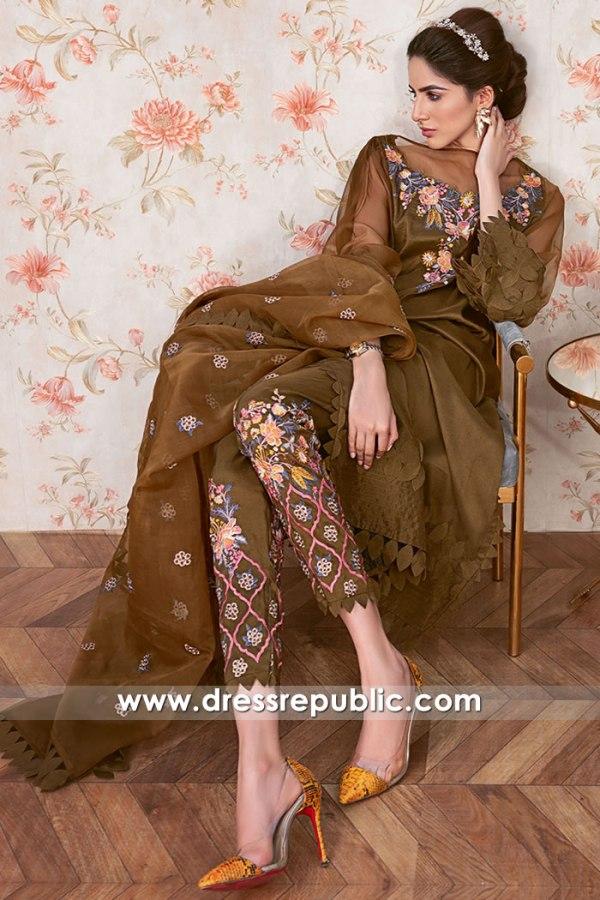 DR16092 Pakistani Designer Suits Boutique Online London, Manchester, England