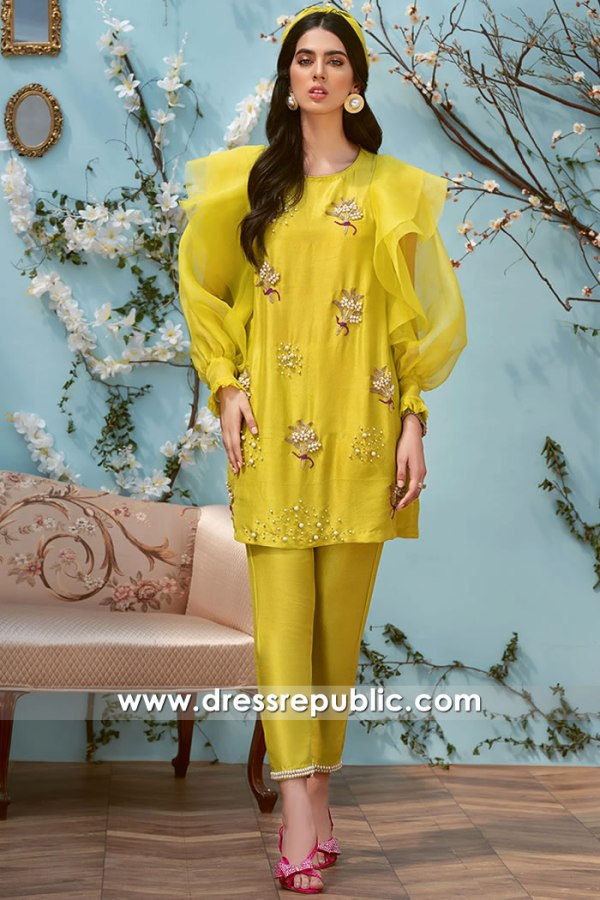 DR16093 Pakistani Indian Designer Party Wear Chicago, New York, Los Angeles, US