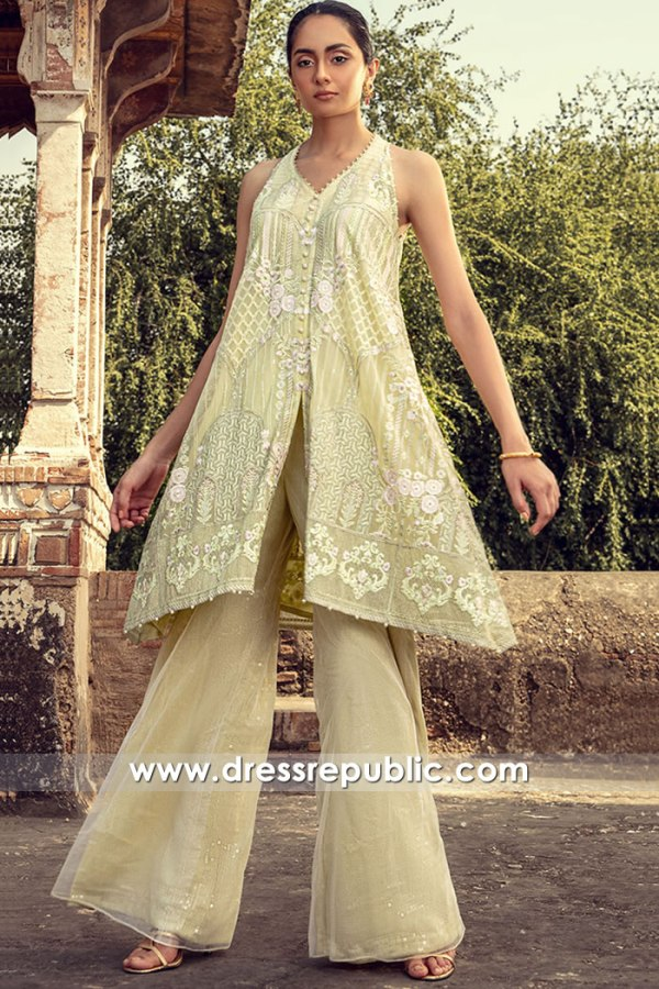 DR16106 Pakistani Designer Party Wear Dresses 2021 in Dallas Forth Worth, Texas
