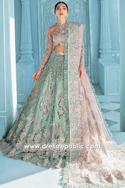 DR16130 Indian Designer Wedding Lehenga Choli, Pakistani Lehenga Online Shop