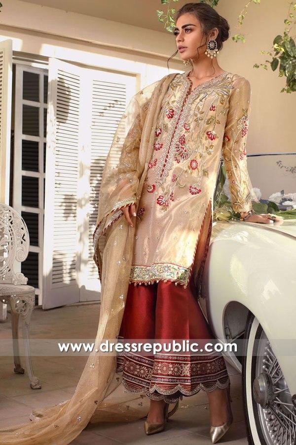 DR16153 Indian Designer Wedding Guest Dresses 2022 Buy Online in USA