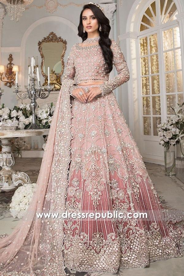 DR16177 Fall Winter 2021 Bridal Lehenga Choli by Pakistani Designers Buy in USA