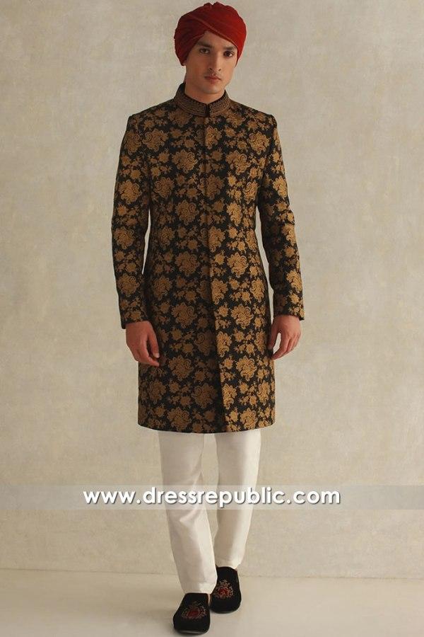 DRM5605 Dulha Sherwani USA Buy Online California, Illinois, Ohio, Washington DC