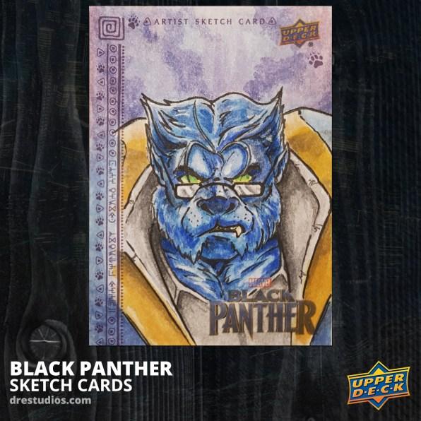andrei-ausch-black-panther-sketch-card-beast