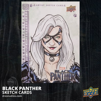 andrei-ausch-black-panther-sketch-card-black-cat