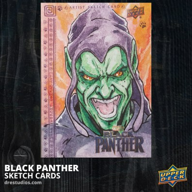 andrei-ausch-black-panther-sketch-card-green-goblin