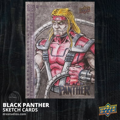 andrei-ausch-black-panther-sketch-card-omega-red
