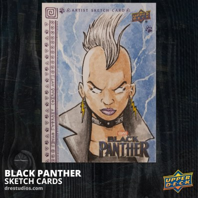 andrei-ausch-black-panther-sketch-card-storm