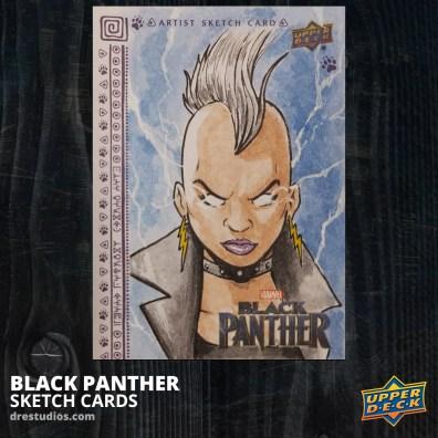 andrei-ausch-black-panther-sketch-card-storm