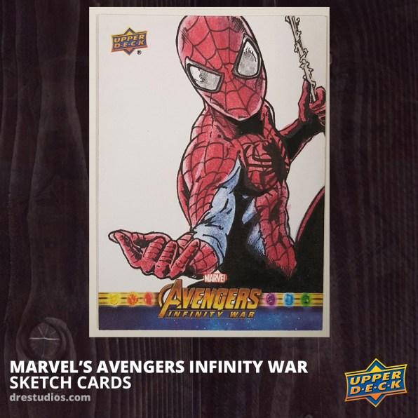 2018-upper-deck-avengers-infinity-war-sketch-card-andrei-ausch-spider-man