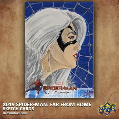 upper-deck-spider-man-far-from-home-trading-sketch-card-andrei-ausch-black-cat-2
