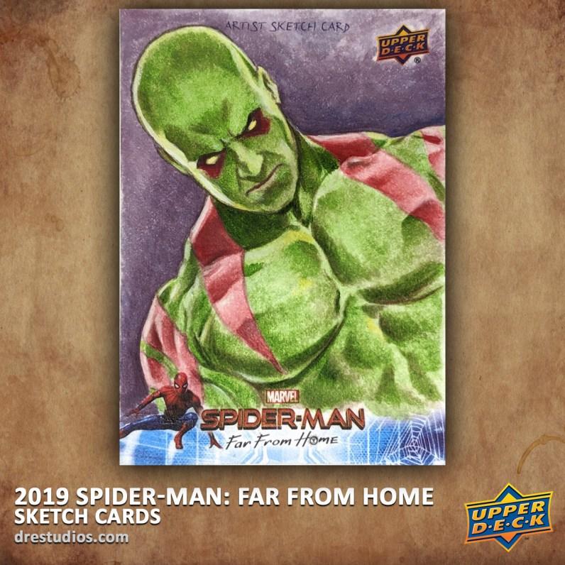 upper-deck-spider-man-far-from-home-trading-sketch-card-andrei-ausch-drax