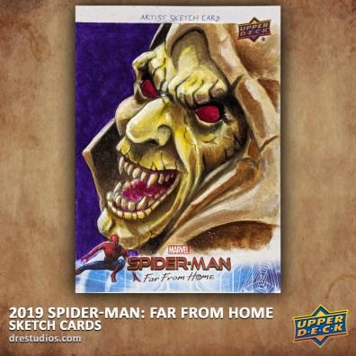 upper-deck-spider-man-far-from-home-trading-sketch-card-andrei-ausch-hobgoblin