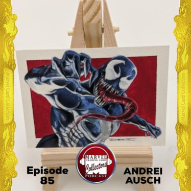 andrei ausch Marvel Card Collectors Podcast