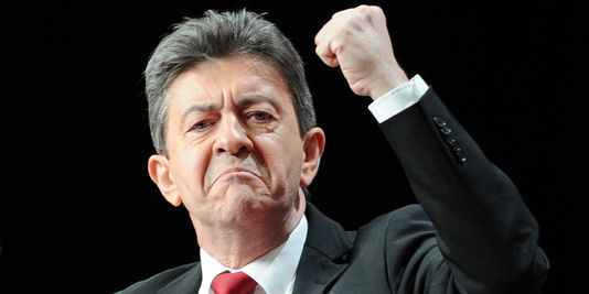 Image result for Mélenchon, photos