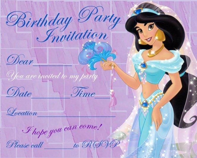 Barbie Birthday Invitation Card Free Printable – Birthday Invite Cards Free Printable