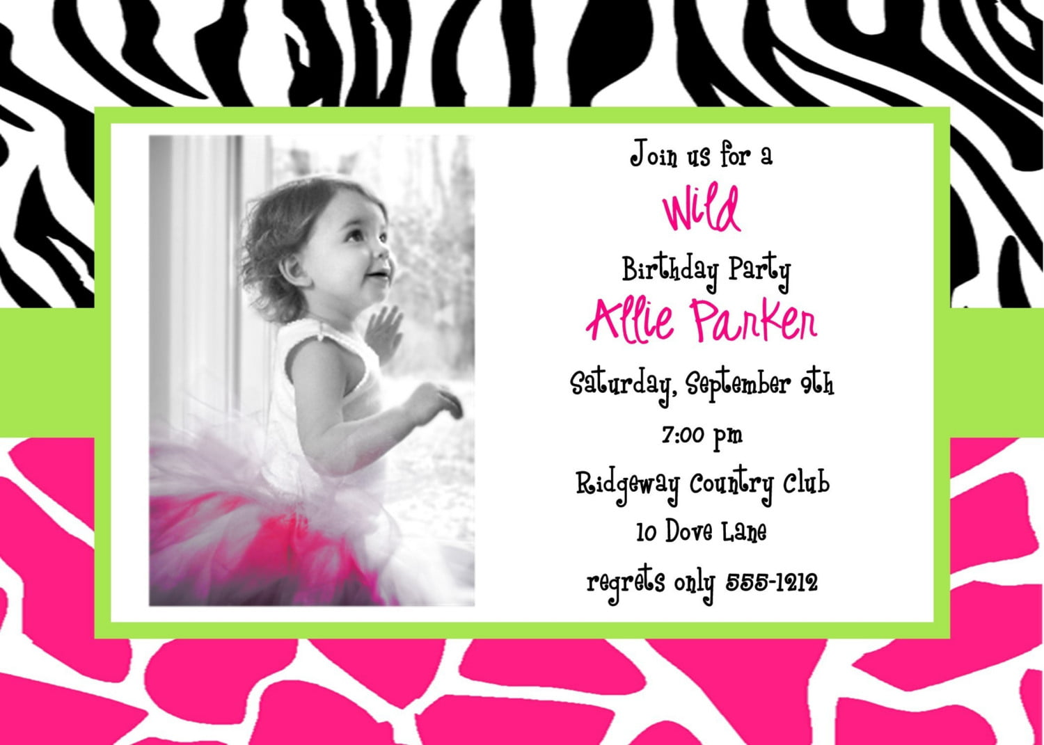 Bday Invitations Templates best word free printable birthday – Free Printable Birthday Invitation Cards