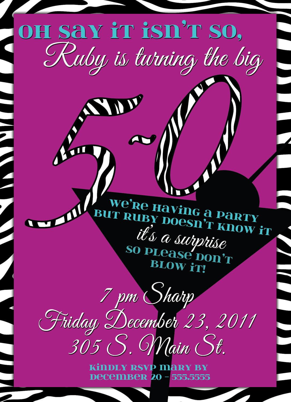 Invitation Birthday Party