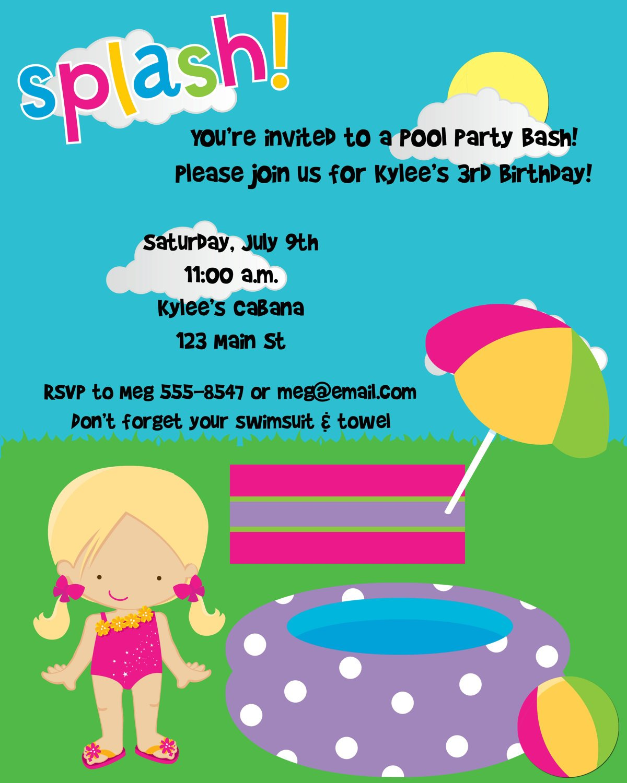birthday wording for invite