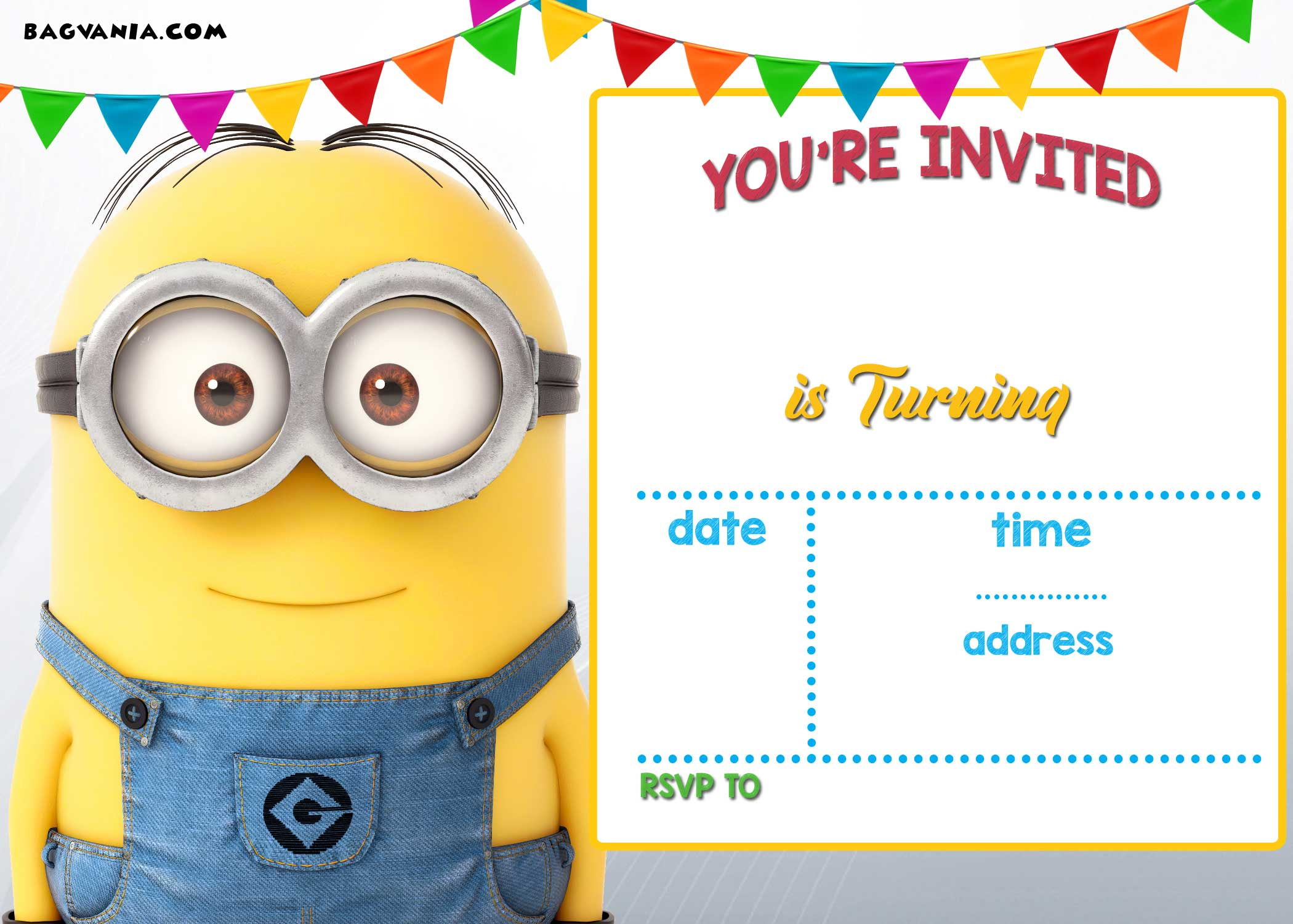 Free Printable Minion Birthday Party Invitations Ideas Template Download Hundreds Free Printable Birthday Invitation Templates
