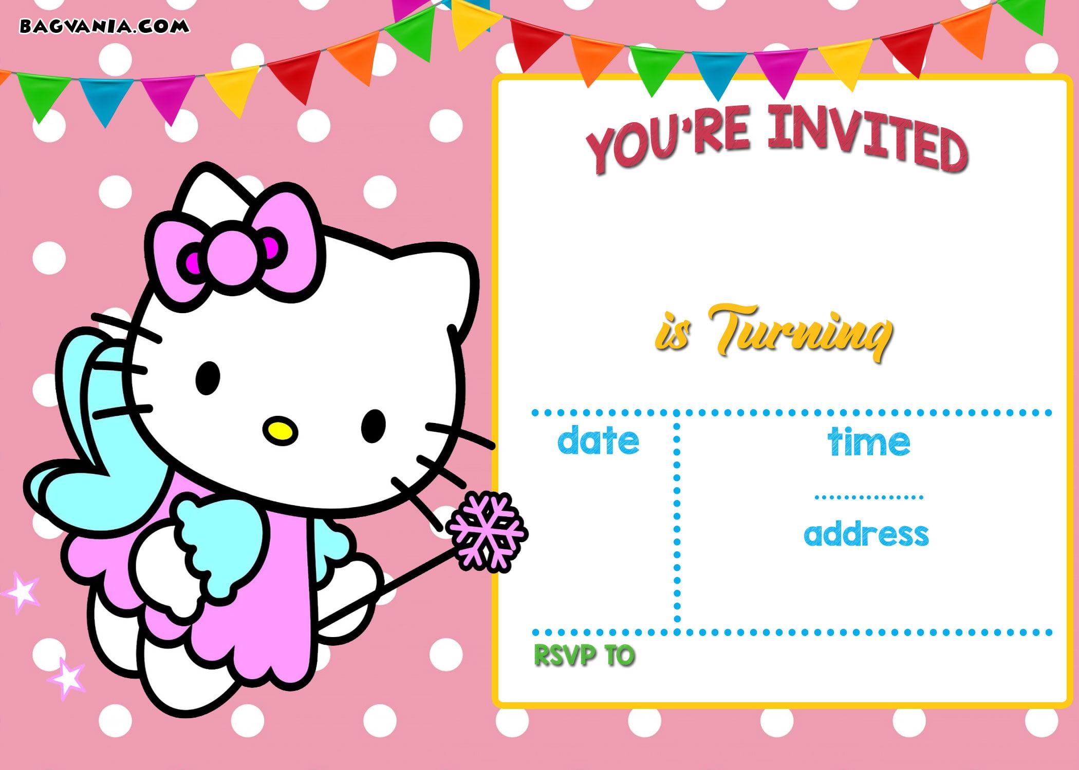 Happy Birthday Party Invitation Card