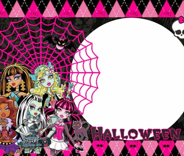 Monster high birthday party decorations rumahblog wallpaper when youre completed youre ready to print it or spread the words when you print you filmwisefo