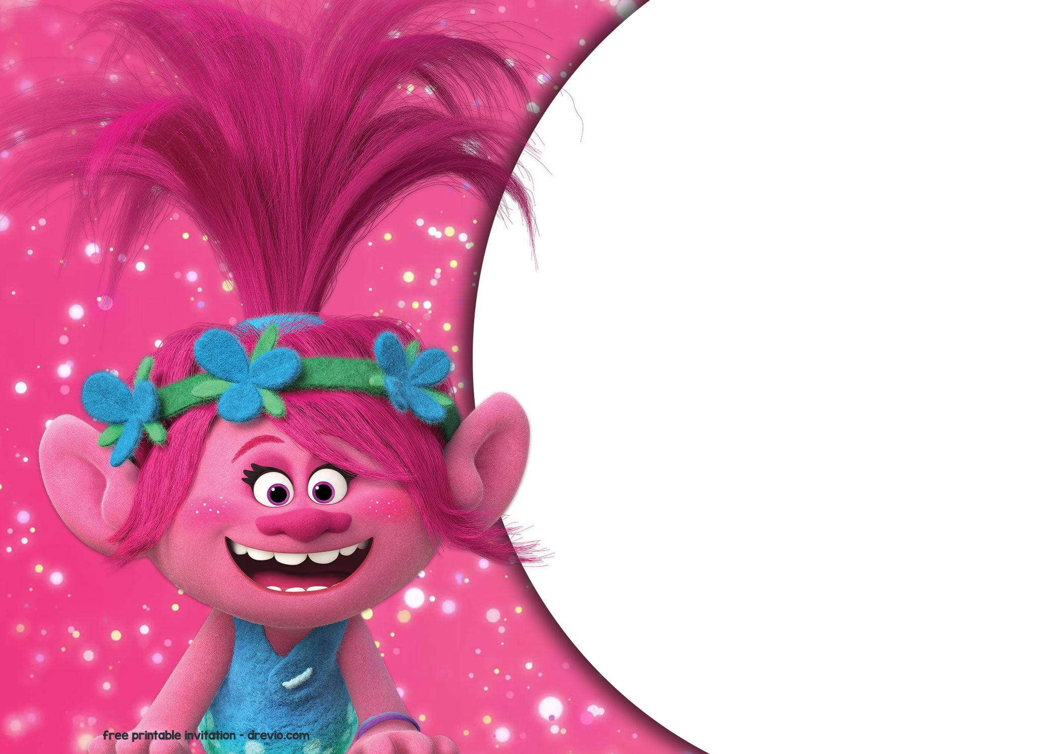 Free Trolls Birthday Invitations Templates Download Hundreds Free Printable Birthday Invitation Templates