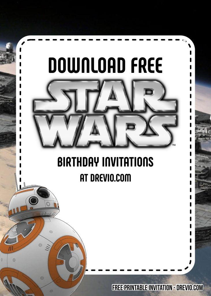 Free Star Wars Birthday Invitation Templates Download Hundreds Free Printable Birthday Invitation Templates