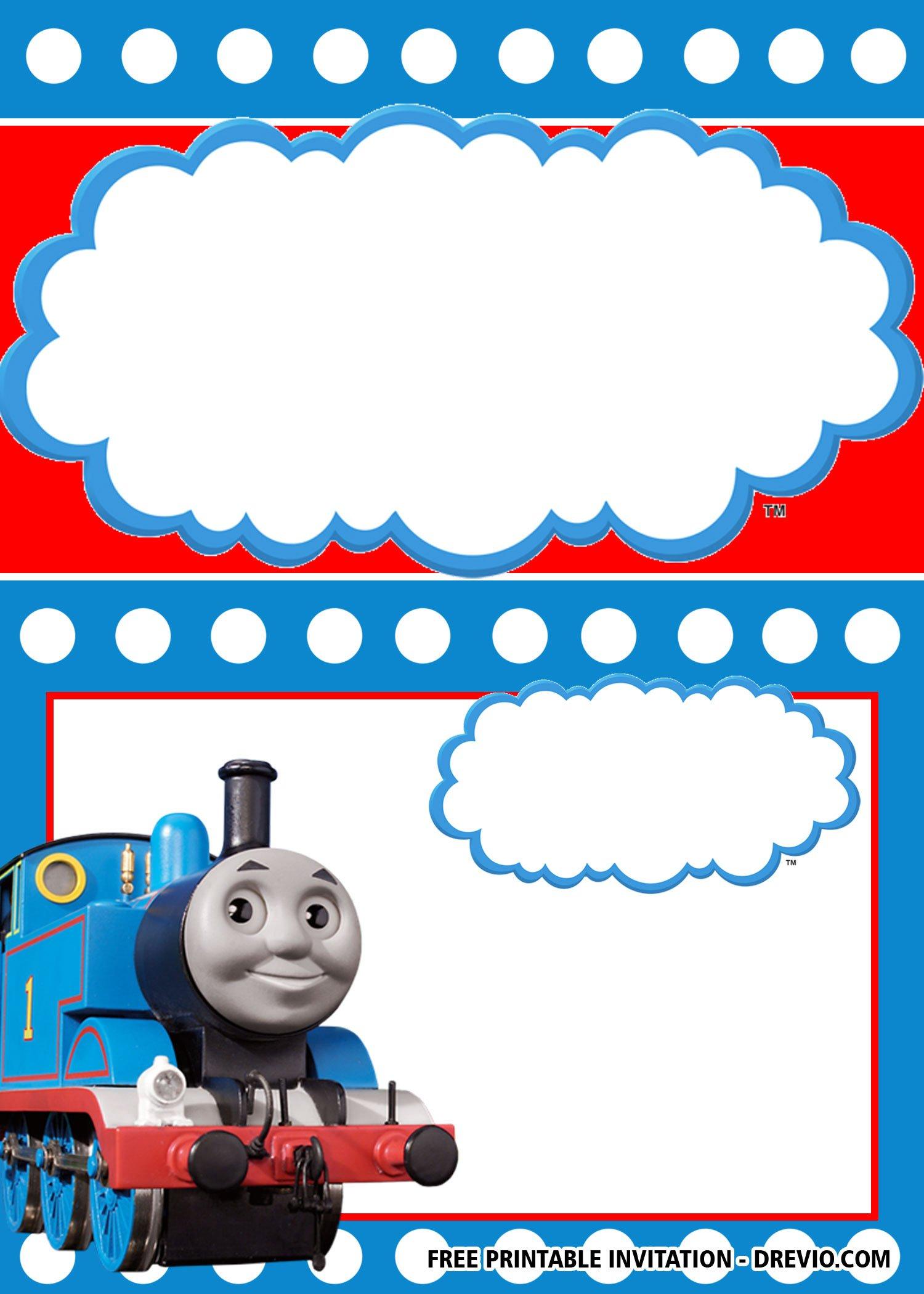 free printable thomas the train