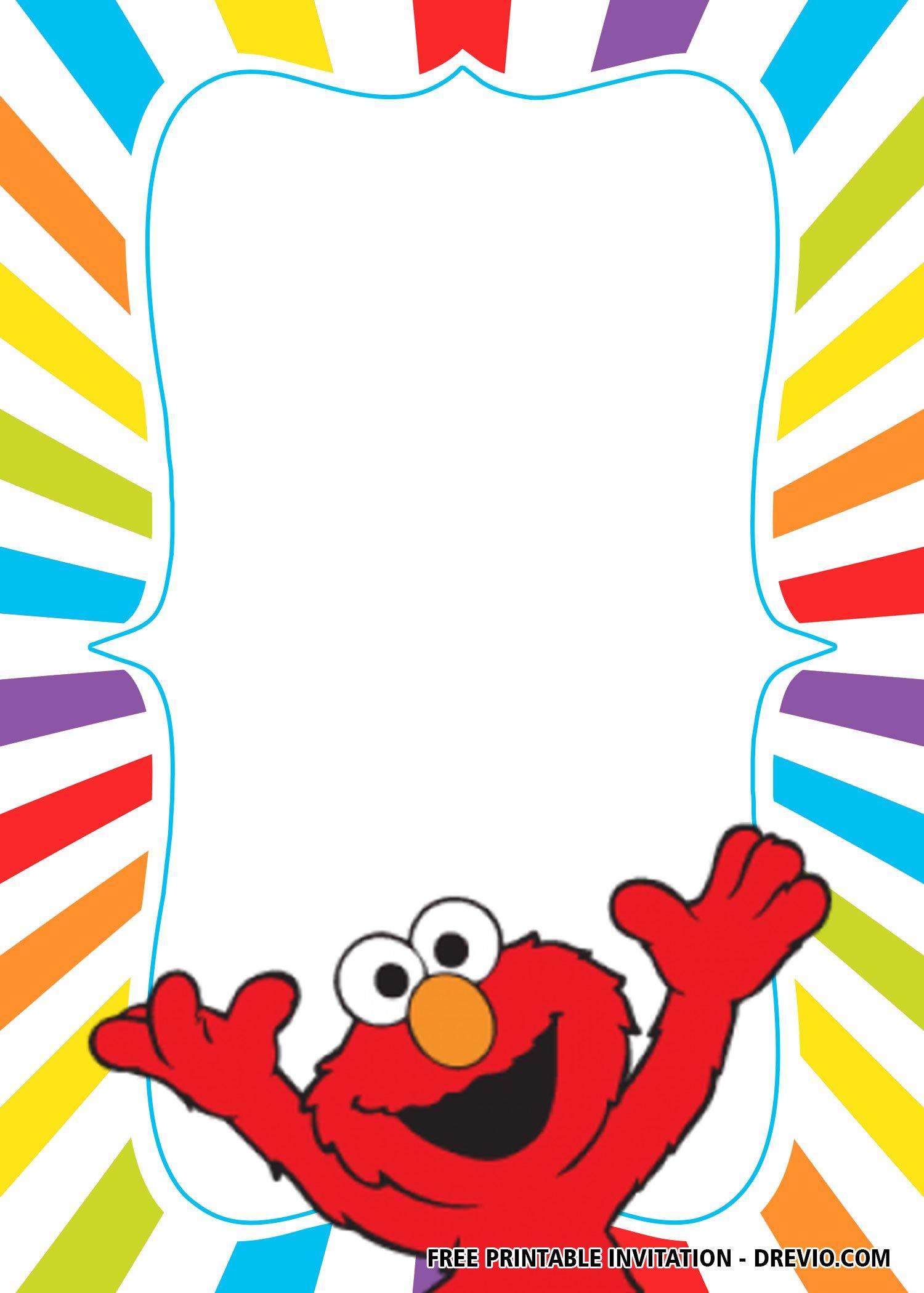 Free Elmo Birthday Invitation Templates Download Hundreds Free Printable Birthday Invitation Templates