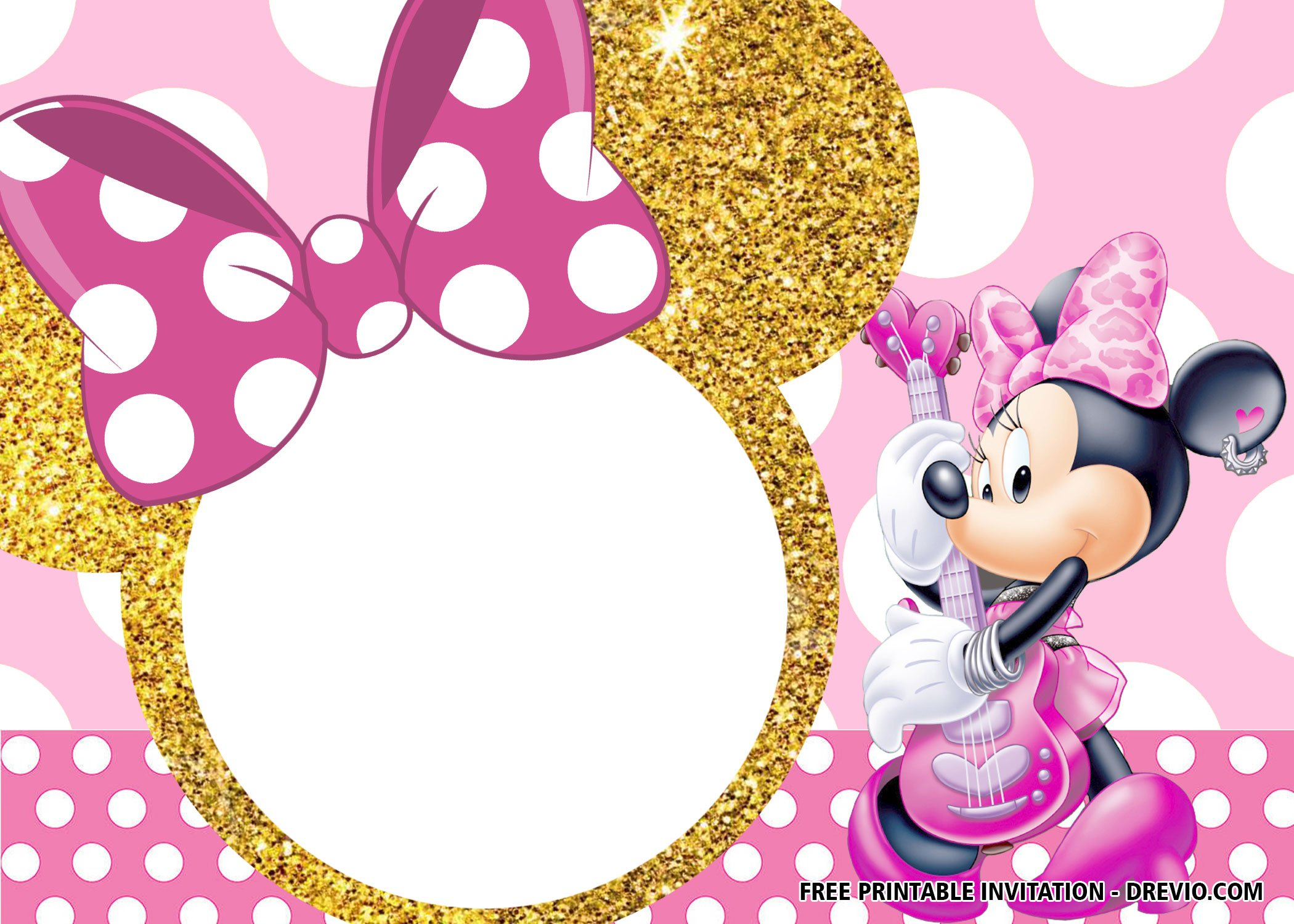 free printable minnie mouse birthday