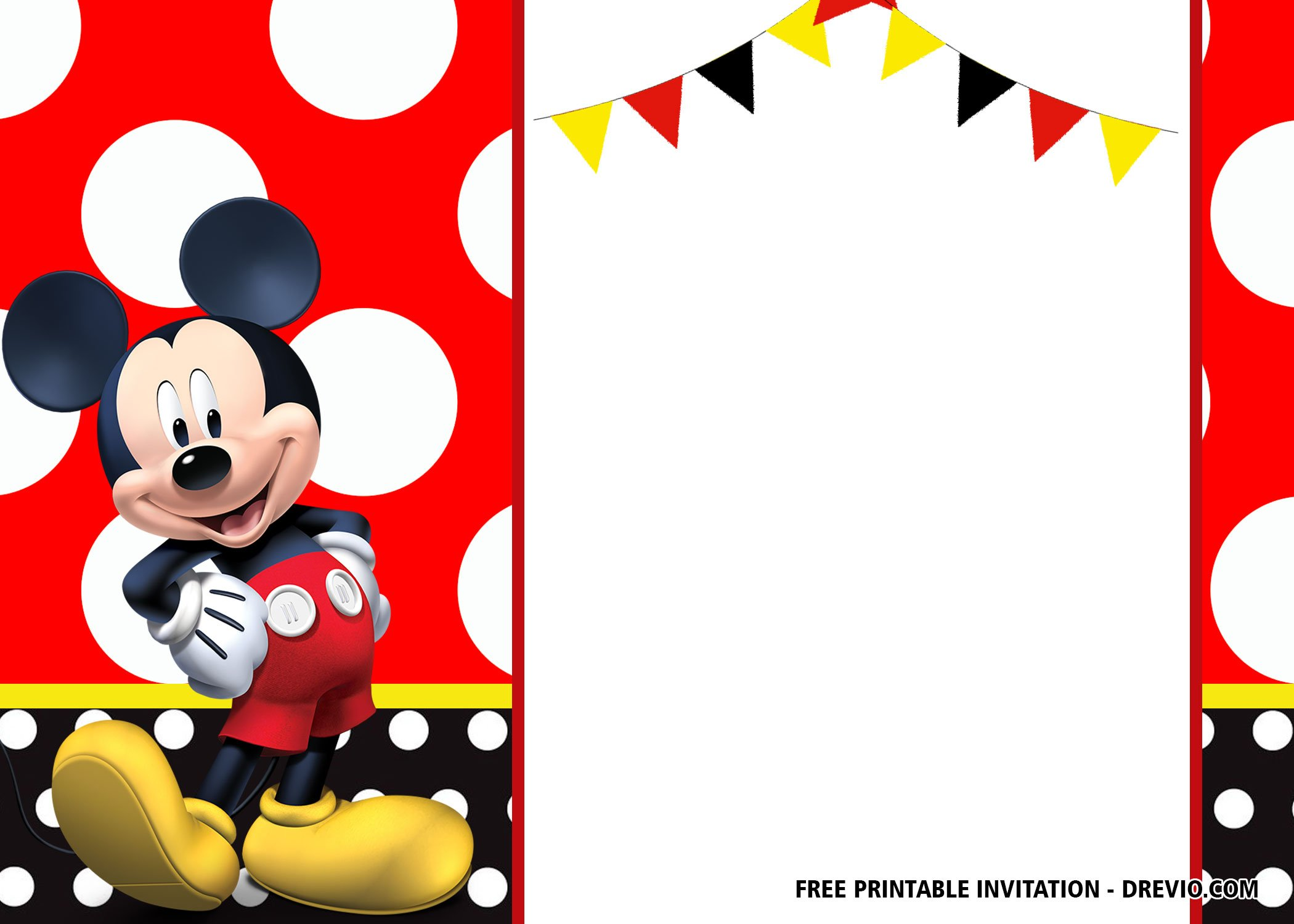 Free Mickey Mouse Birthday Invitation Templates Latest Download Hundreds Free Printable Birthday Invitation Templates