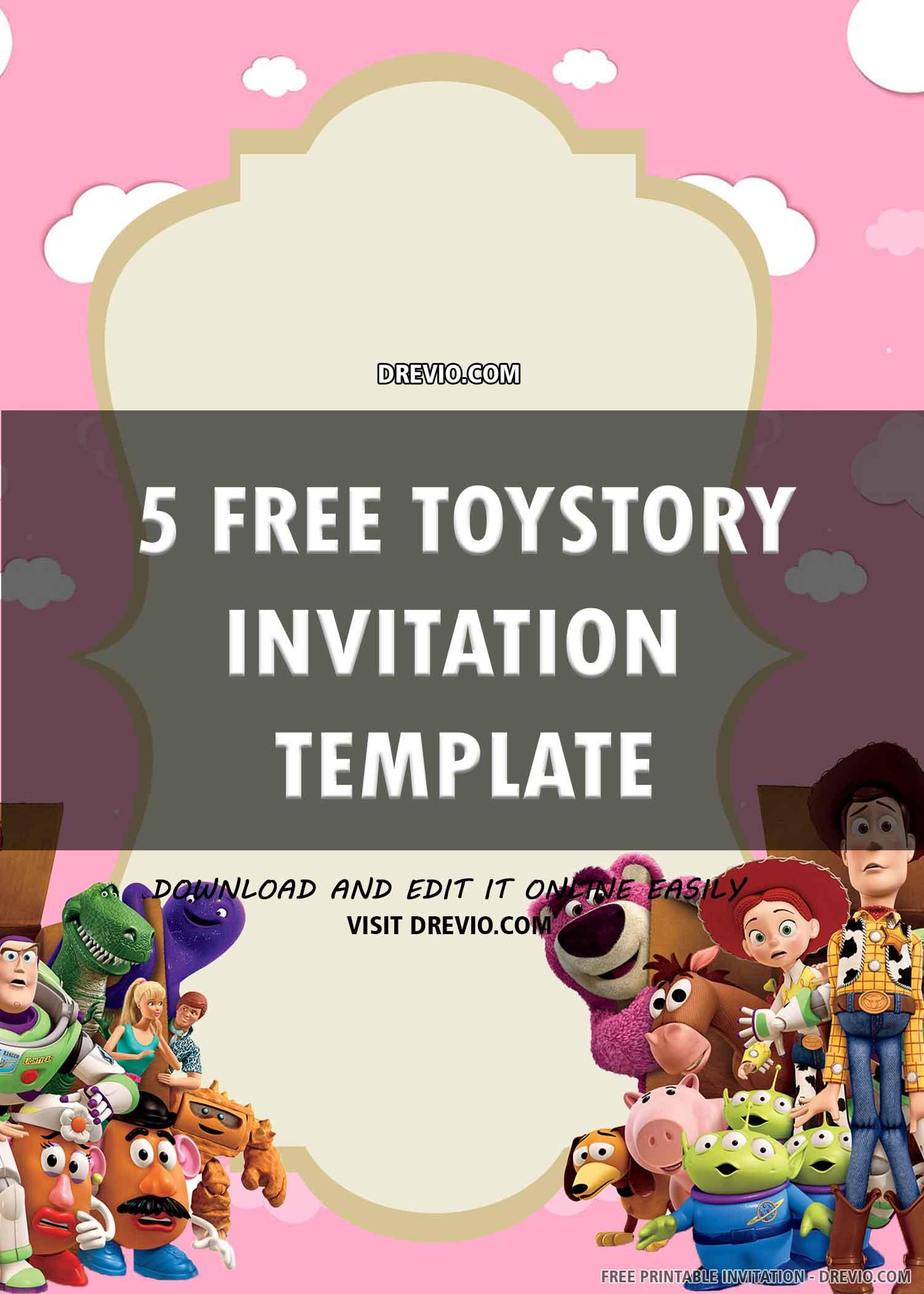 toy story birthday invitation 6
