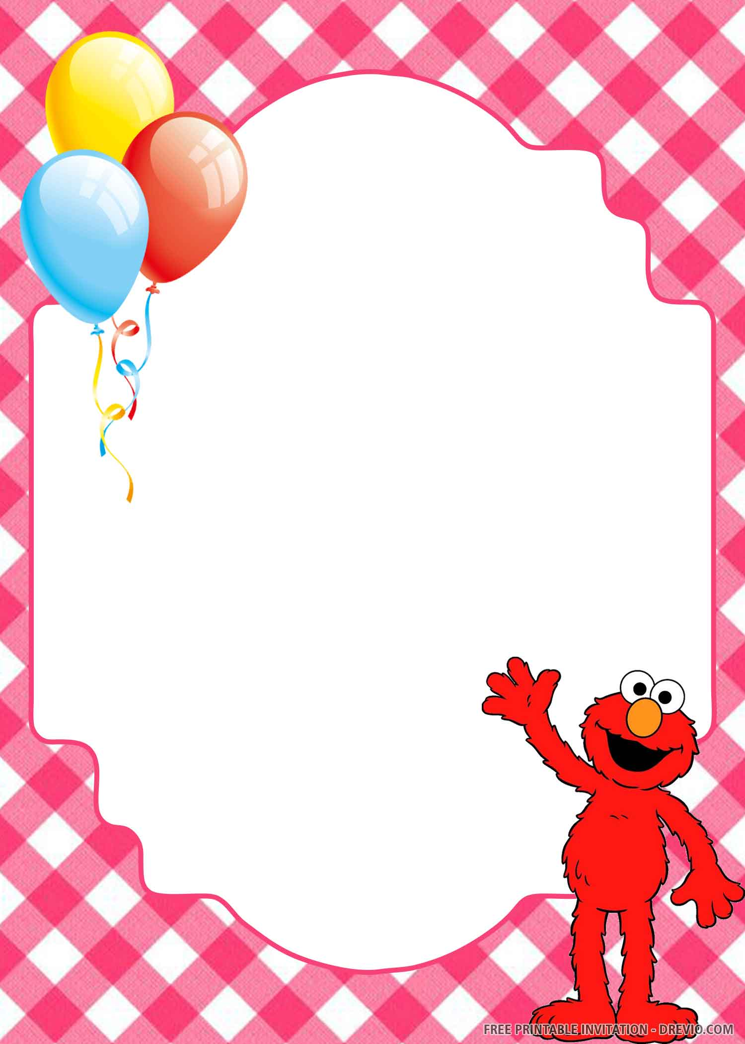 free printable happy elmo birthday
