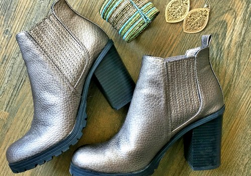 Gold Sam & Libby Ankle Boots
